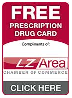 Prescription Drug Card Button